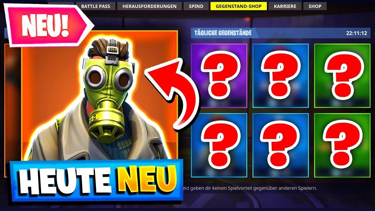 Neuer Gasmasken Skin Heute Im Shop Fortnite Daily Shop 22 6