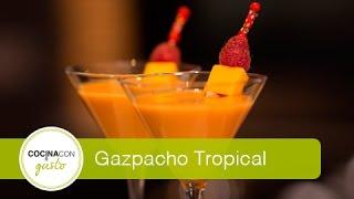 Gazpacho Con Mango