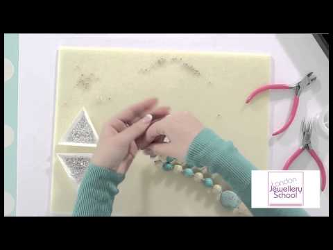 How to Make Jewelry: Tutorial for Beginners (Part 4 of 4) Necklace Making