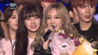 Download Video 151016  TAEYEON 태연 NO 1 Music Bank MP3 3GP MP4