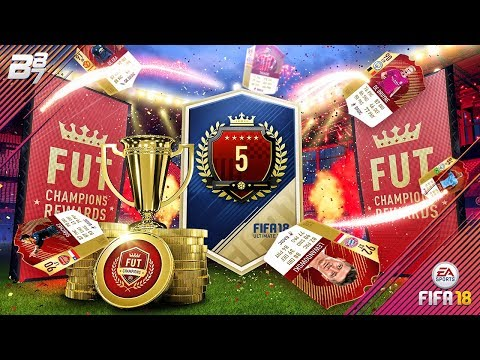 44 RED INFORMS AND A ICON IN A PACK! FUT CHAMPIONS REWARDS! | FIFA 18 ULTIMATE TEAM