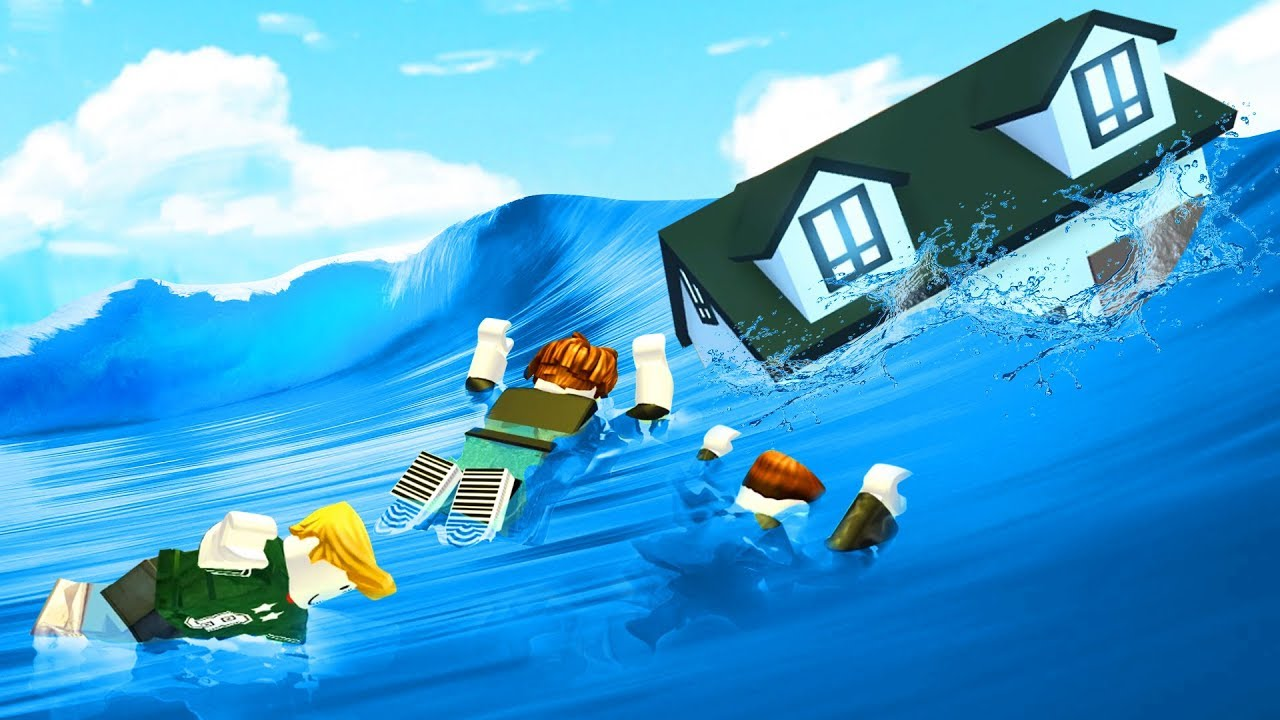 Crazy Survive The Flood Challenge Roblox Youtube