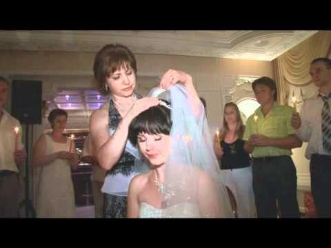 Обряд на свадьбе с фатой