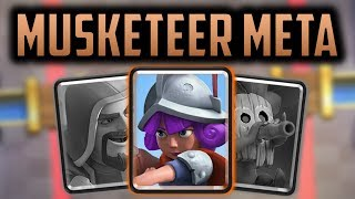 Why does Musketeer DOMINATE the Clash Royale Meta?... // Clash Royale Theory and Strategy