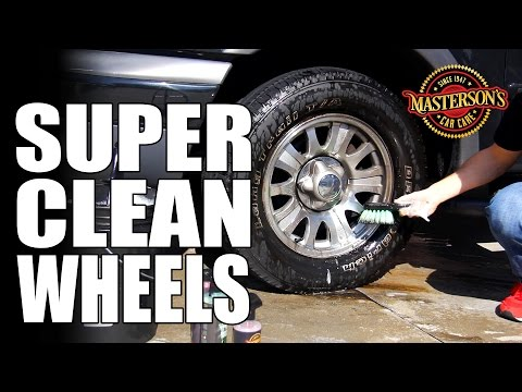 How To SUPER CLEAN Wheels & Tires - Masterson's Car Care - Auto Detailing