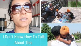 Tough Day Talking To Kids About Loss | FAMILY VLOG | MOM BOSS OF 3