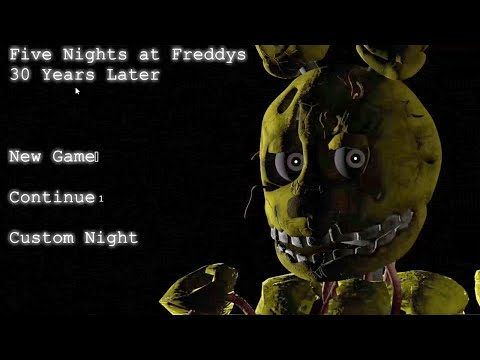 Freddy Fazbears Pizza - 30 Years Later: Part 1 - SPRINGTRAP ATTACKS!