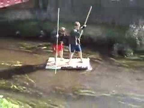Jenny: Huck Finn Raft Project - YouTube