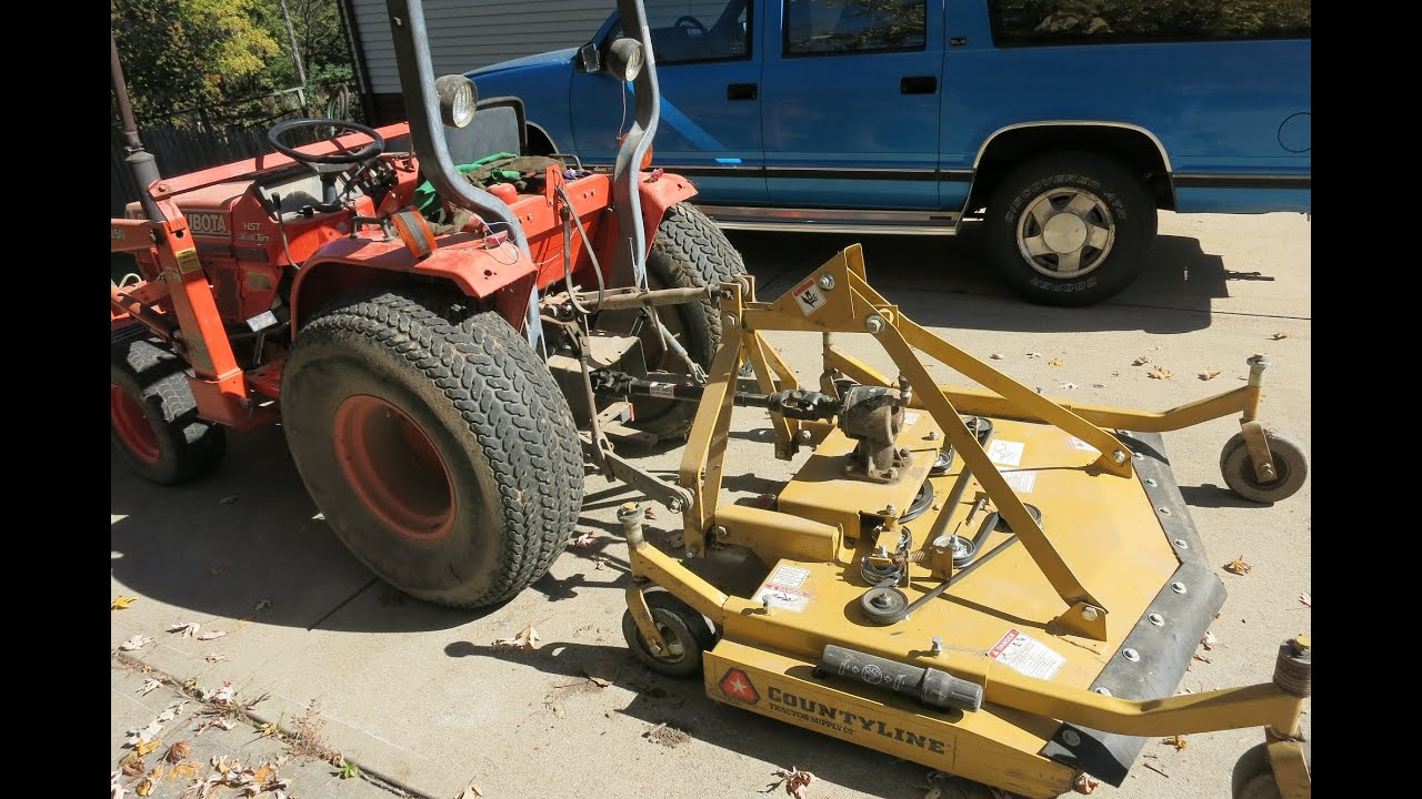 Problems with my new mower  County Line