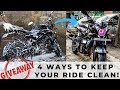 How To Keep Your Motorcycle Clean In All Weather Under Rs 1000! Bike Blazer Giveaway!