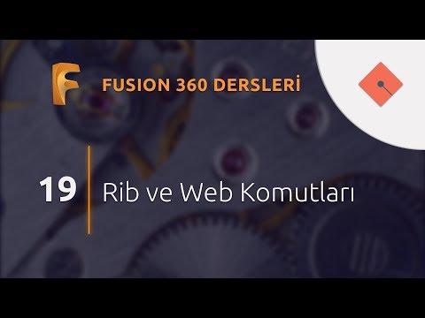Yakın Kampüs - Fusion 360 Ders 19 - Rib ve Web Komutları