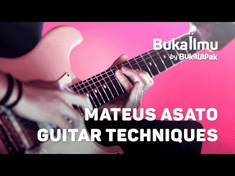 Mateus Asato Guitar Techniques Lesson | BukaIlmu Mp3