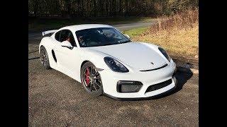 Porsche Cayman GT4 Test Drive!