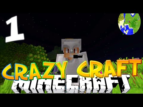 Minecraft CRAZY CRAFT 3.0 #1
