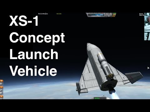 XS-1 Booster - DARPA's New Launch Vehicle Concept