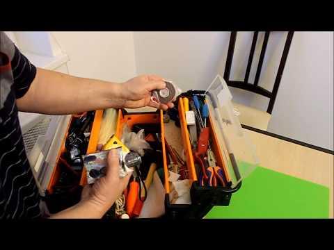 """Ящик для хранения домашних инструментов. Мой """"аварийный"""" набор."""