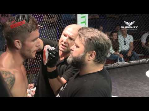 Almighty Fighting Championship 5  Quinton De Vreught v Dave Sutcliffe