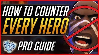 The ULTIMATE GUIDE to COUNTER PICK EVERY Hero - Pro Ranked Tips and Tricks   Overwatch Meta Guide
