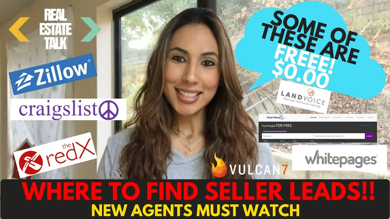 WHERE TO FIND REAL ESTATE LEADS - FSBO, EXPIRED, OTHER