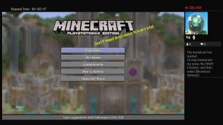 Minecraft stream  dedicated to Lauran