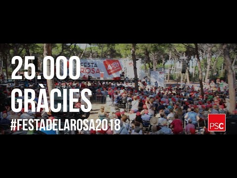 25.000 gracies Festa de la Rosa 2018