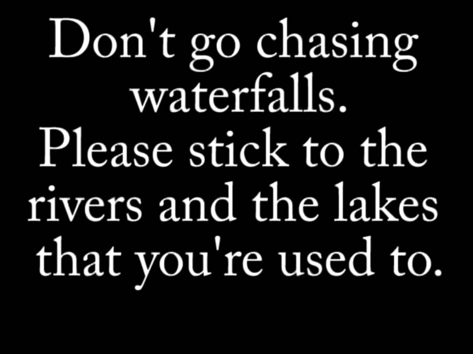 Waterfalls by TLC lyrics (in F) - YouTube