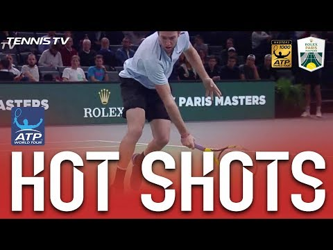 Hot Shot: Sock Shows Touch In Paris 2017 QF