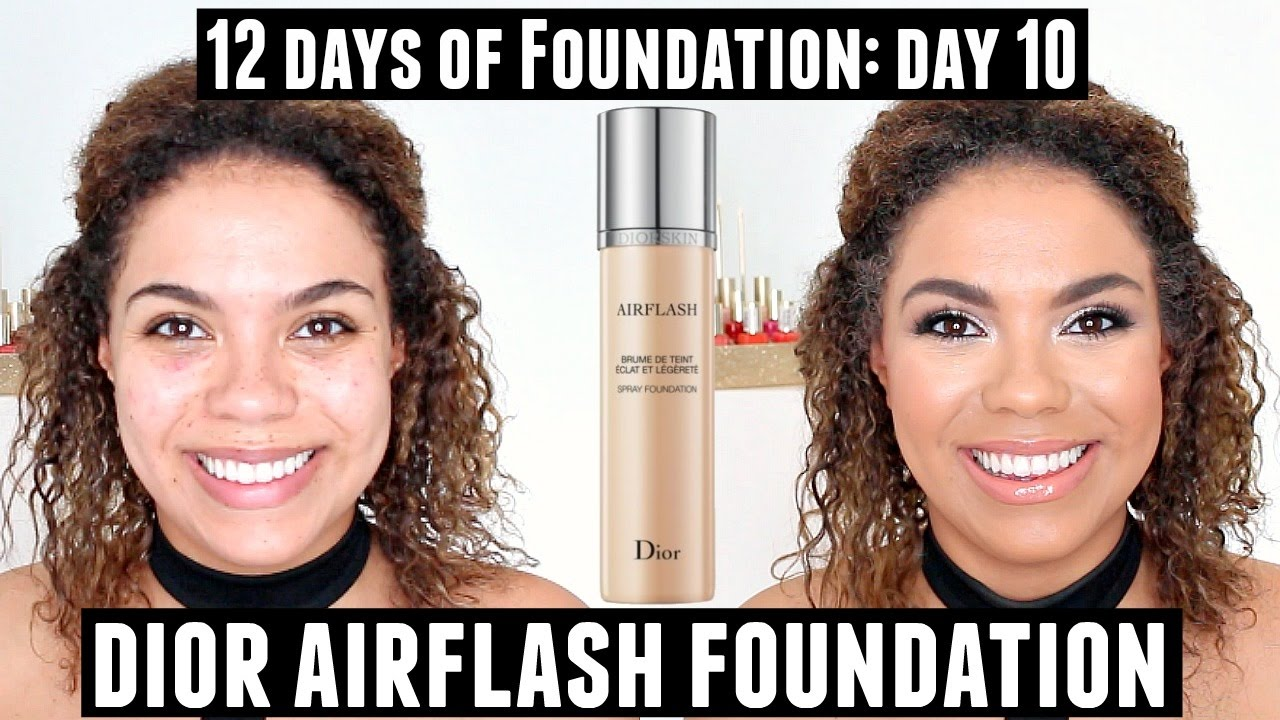 Dior Airflash Foundation Review (Oily Skin) 12 Days of Foundation ...