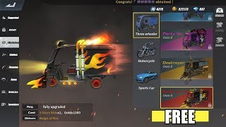 Rules of Survival - HOW TO GET FREE REIGN OF FIRE TUK TUK CAMO!
