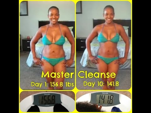 Master Cleanse: -15 lbs in 10 Days ( Before & After Pics )