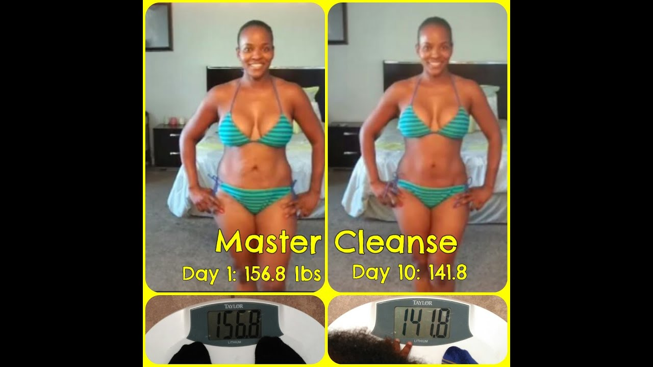 Master Cleanse 15 Lbs In 10 Days Before Amp After Pics