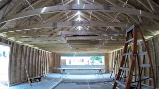 Custom Garage One-day Build – View Time-lapse