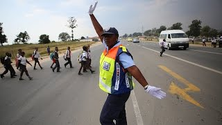Meet Dorah, the viral dancing traffic cop, teaching motorists to smile