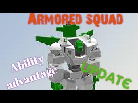Armored Squad/Ability Advantage update