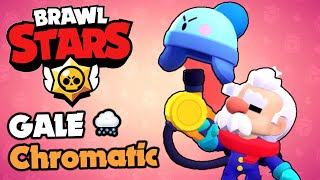Brawl Stars - GALE - The 1st Chromatic Brawler!!