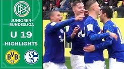 0:4 - Schalke vermöbelt BVB | Borussia Dortmund - Schalke 04 | Highlights | A-Junioren-Bundesliga