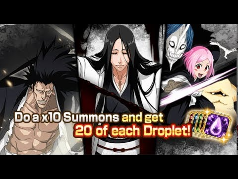 Bleach Brave Souls - Primeiro sumons da conta 250 orbs e um ticket especial