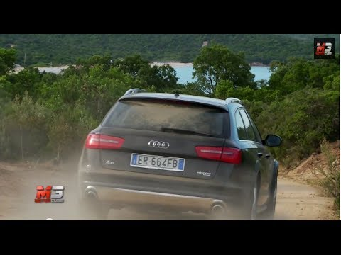 AUDI A6 ALLROAD QUATTRO 2014 - OFF ROAD TEST DRIVE COSTA SMERALDA ONLY SOUND