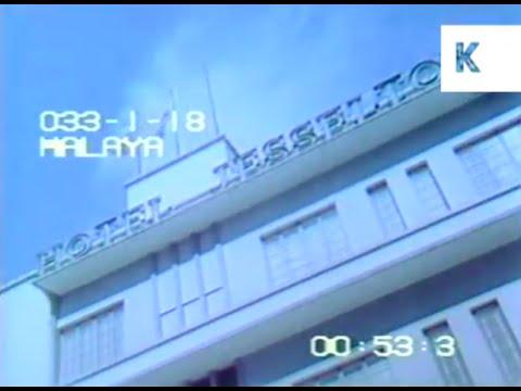 Footage of Kota Kinabalu in Sabah & USNO 1970s