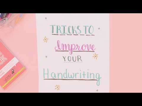 How To Improve Your Handwriting   Plan With Me