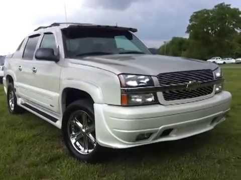 sold.2004 CHEVROLET AVALANCHE 4X4 SOUTHERN COMFORT ...