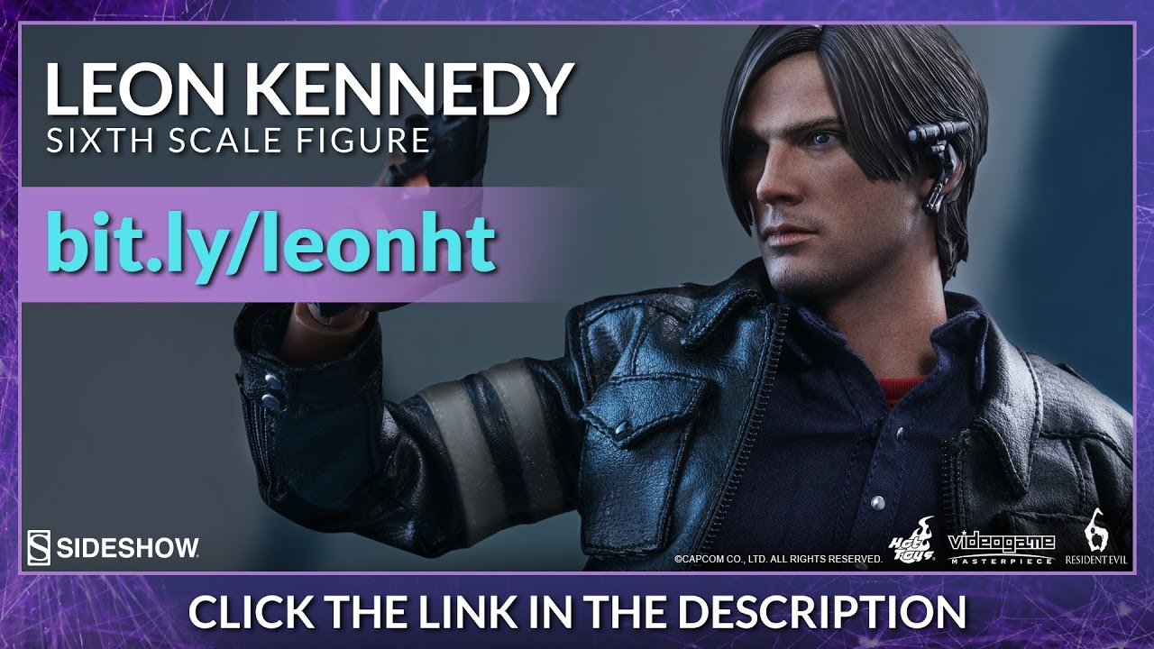 osw.zone Resident Evil 6 Hot Toys Leon S. Kennedy VGM 1/6 Scale Figure Review - Shared by...