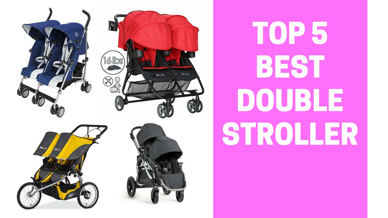 100 double stroller with car seats this would fit with the