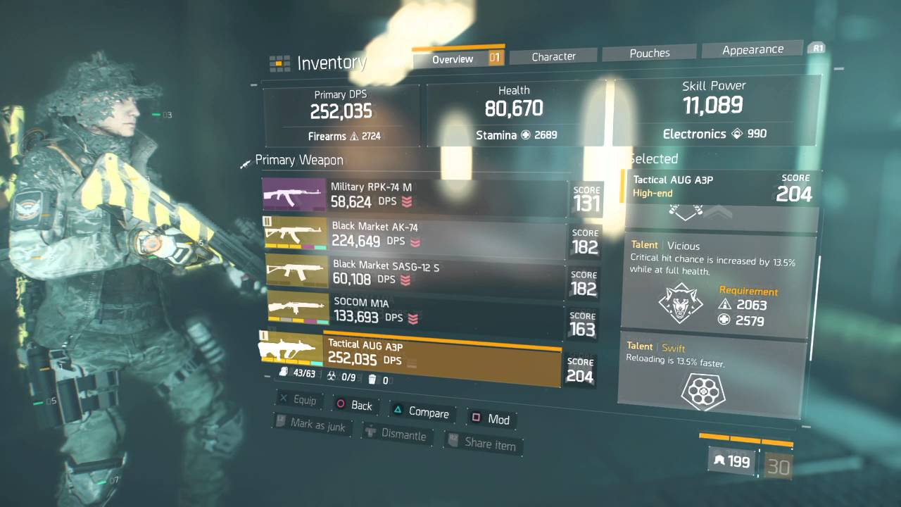The Division   Best Solo Build