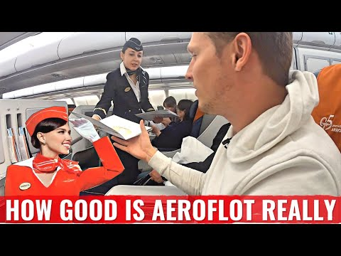 Review: RUSSIAN AEROFLOT Business Class - is it any GOOD and SAFE?