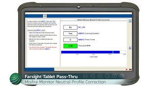 Ford Misfire Monitor Neutral Profile Correction & Relearn - Using Ford IDS or FJDS via Pass-Thru