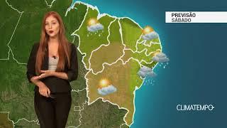 Previsão Nordeste - Alerta em Aracaju e Maceió