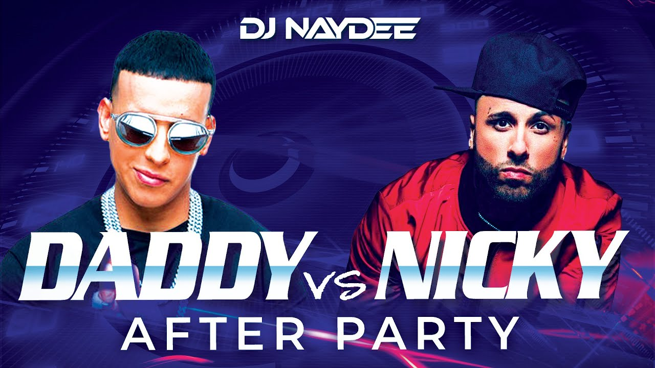 Daddy Yankee Vs Nicky Jam Reggaeton Mix 2021 - 2017 | After Party By Dj Naydee