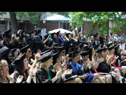 Wellesley College Commencement 2013