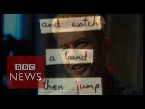 How David Bowie used 'cut ups' to create lyrics - BBC News
